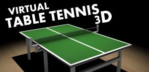 Virtual Table Tennis 3D Android 300x146 Virtual Table Tennis 3D: ping pong in HD su Android