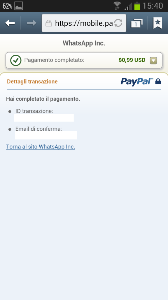 Screenshot 2013 02 02 15 40 121 576x1024 Come Rinnovare WhatsApp con PostePay, SuperFlash o alta Carta [Android]