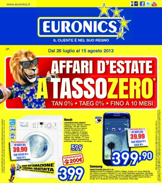 Mobili lavelli euronics bruno messina volantino for Volantino bernava messina
