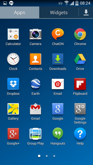 S4 Android 4.4