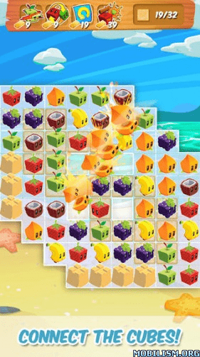 Trucchi, cheat, hack Juice Cubes 1.19.11 (Unlimited Gold) APK per Android: oro infinito e illimitato