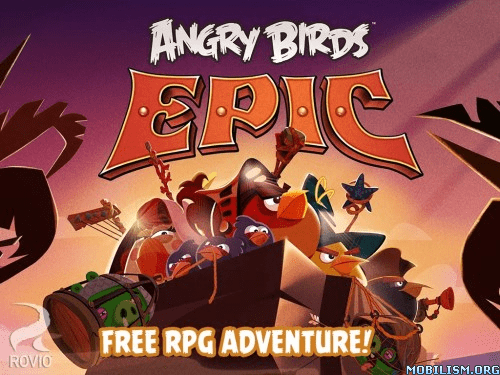 Trucchi, cheat, hack Angry Birds Epic [Mod Money] 1.0.9 iPhone, iPod e iPad: soldi infiniti e illimitati