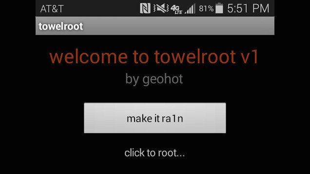ROOT automatico e universale su Android KitKat 4.4 con KitKat Towelroot