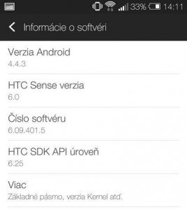 Htc one m7 Kitkat 4.4.3