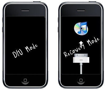 how to set your iphone to recovery mode