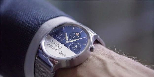 Huawei Watch image 001 Android Wear compatibile con iPhone? Si, ma tra poco