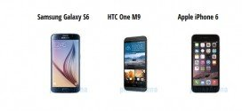 Samsung Galaxy S6 contro tutti: Note 4, Galaxy S5, HTC One (M9) ed iPhone 6