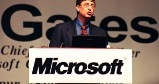 Bill Gates, chairman and chief executive