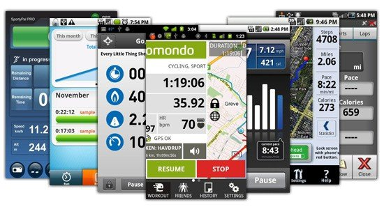 Best Android IOS apps for joggers and runners pictures
