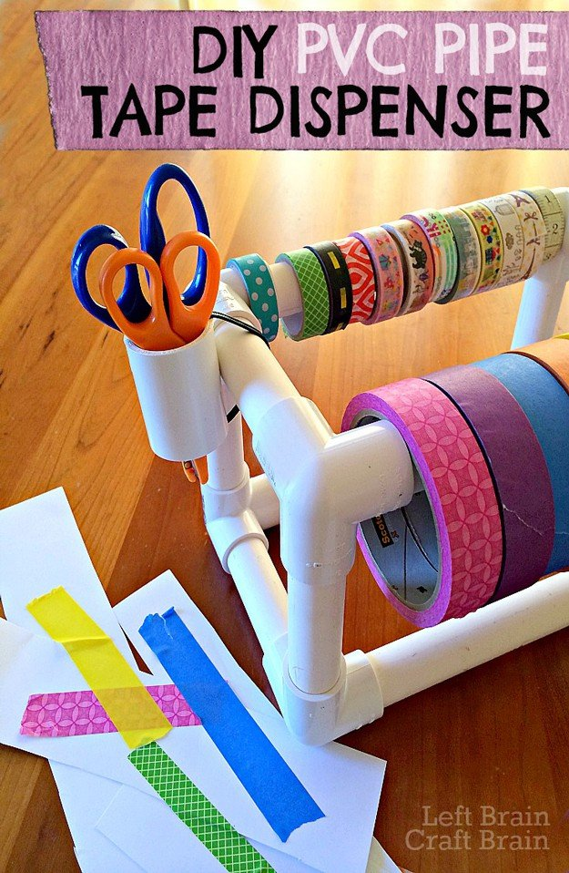 DIY-PVC-Pipe-Tape-Dispenser-Left-Brain-Craft-Brain