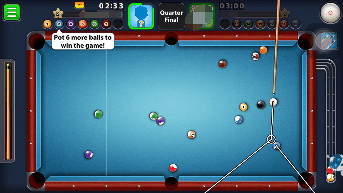 Trucchi, cheat, hack 8 Ball Pool 3.3.2 iOS, iPhone, iPad