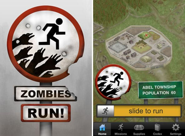 Trucchi Zombies Run iOS, iPhone, iPad