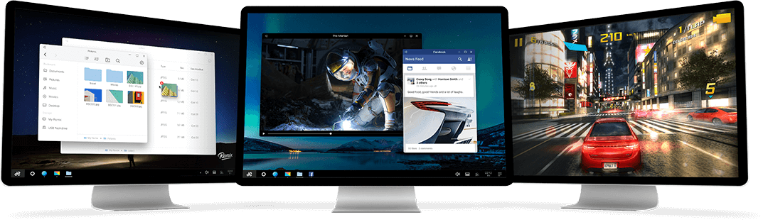 Remix OS Android Windows