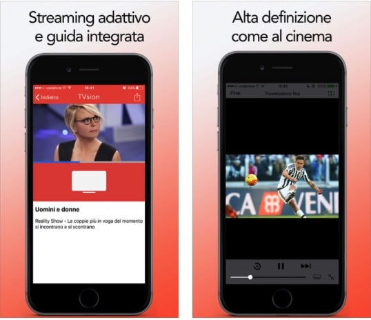 Televisione Streaming iPhone