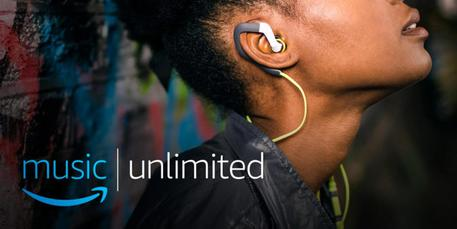 Amazon lancia in Italia il servizio di streaming Amazon Music Unlimited