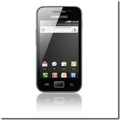 GALAXY Ace S5830 Product image 1COMPR thumb Samsung Galaxy Ace: scheda tecnica, caratteristiche, foto, prezzo