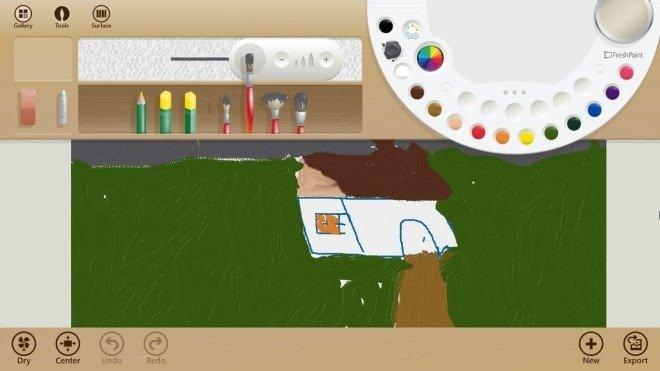 Fresh paint un ottimo programma gratuito per disegnare su for Programma per disegnare arredamento