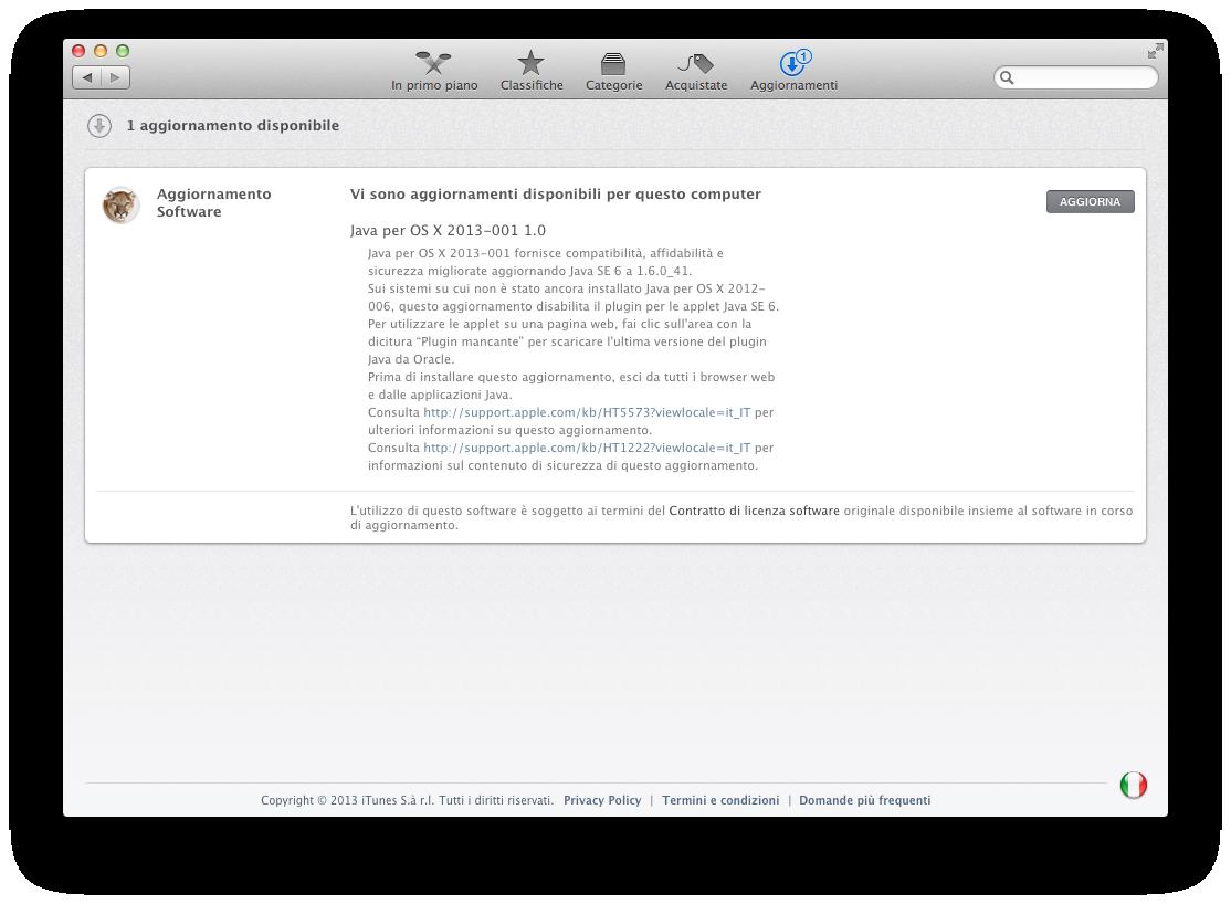 Apple mac os x software