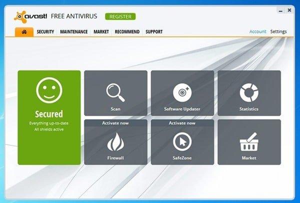 Antivirus Gratis Per Windows 7