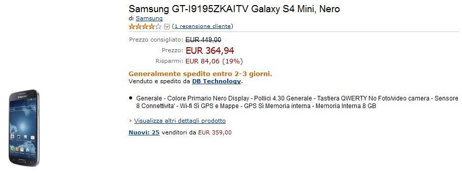 S4 Mini Amazon