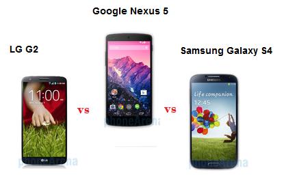 N5 vs S4 vs G2