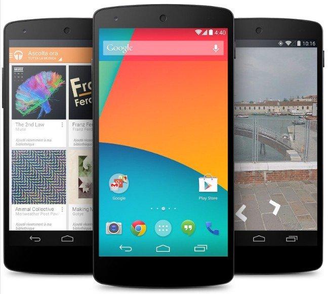 Nexus 5 1 LG Nexus 5: Tutto quello che cè da sapere [Scheda Tecnica, Prezzi, Immagini ed Accessori]