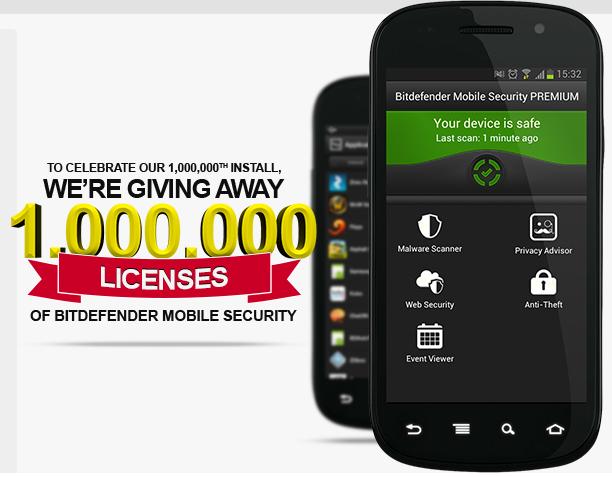 Bitdefender mobile security antivirus per android gratis for Antivirus per android gratis