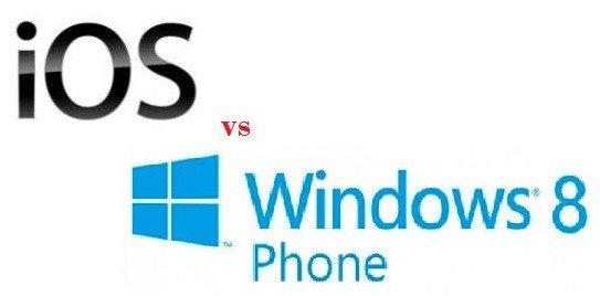 iOS vs WP