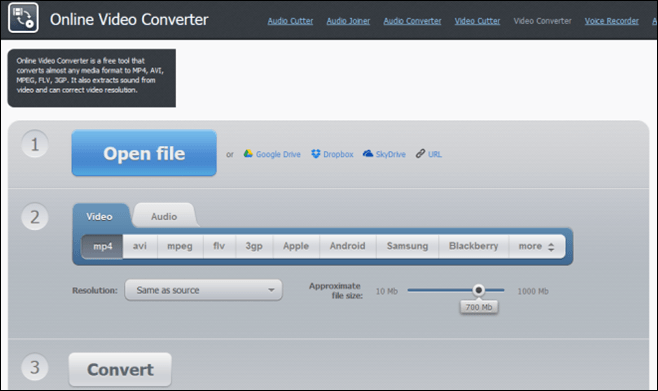 Online-Video-Converter