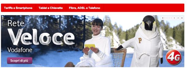 Vodafone regala 2 GB di traffico dati internet in 3G/4G per un mese intero