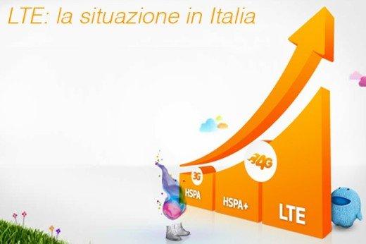 La rete LTE si diffonde in Italia, ma gli italiani non la possono usare