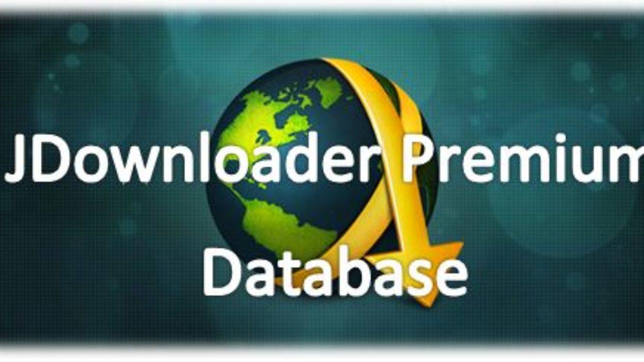 Account Premium E jDownloader Database script Premium