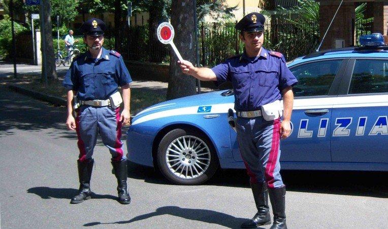 posto-blocco-polizia-siracusa