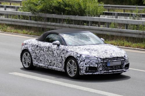 Audi TT Cabrio 2015