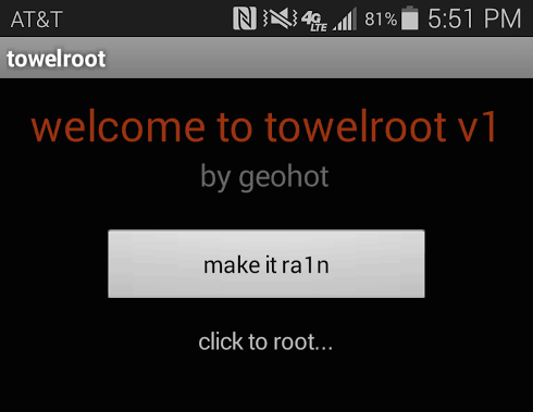 ROOT Galaxy S5