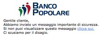 Banco Popolare Phishing