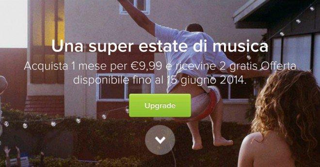 Nuova promozione per avere Spotify Premium Gratis