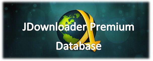 Account Premium E jDownloader Database.script Premium 20 09 2012
