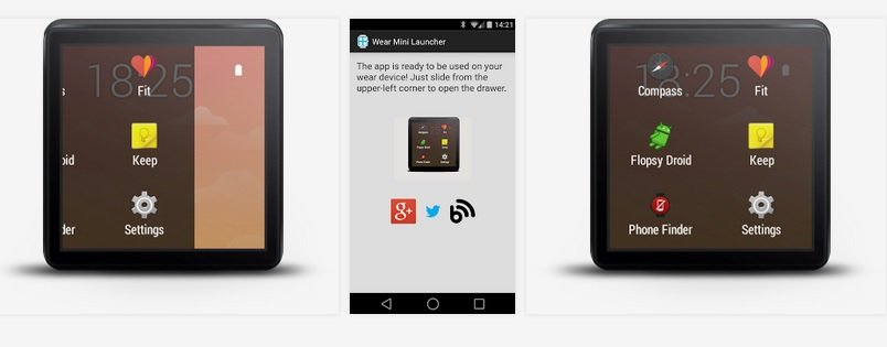 Launcher Android Wear