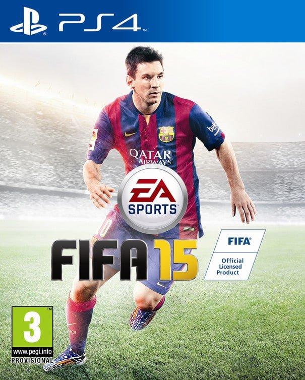 Ecco la copertina ufficiale di FIFA 15 in anteprima