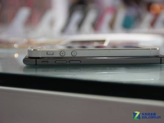 Spessore iPhone 6 vs 5S
