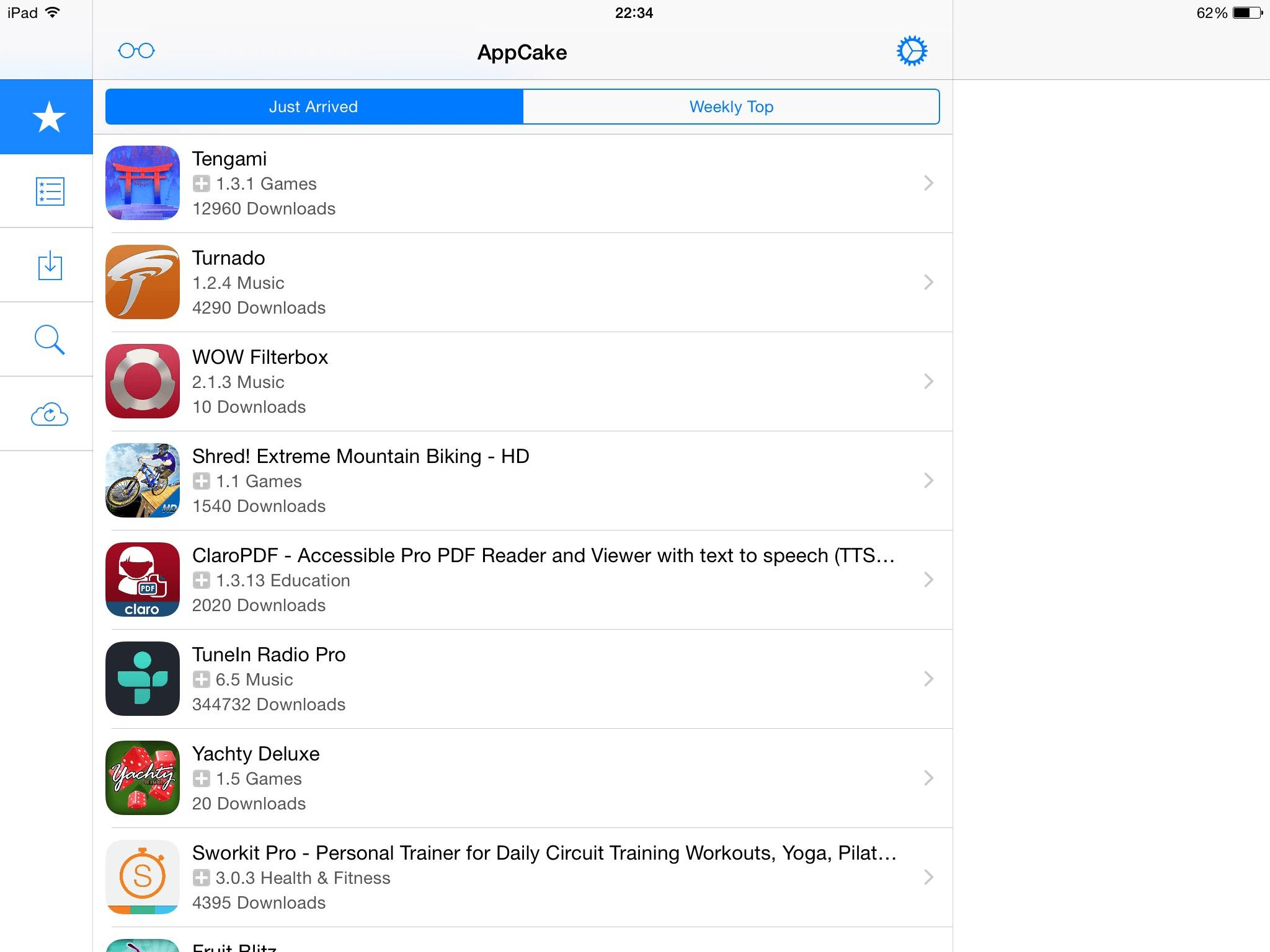 AppCake iOS 8