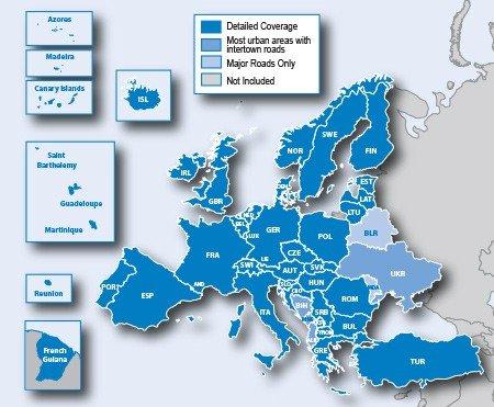 SCARICA MAPPE EUROPA TOMTOM
