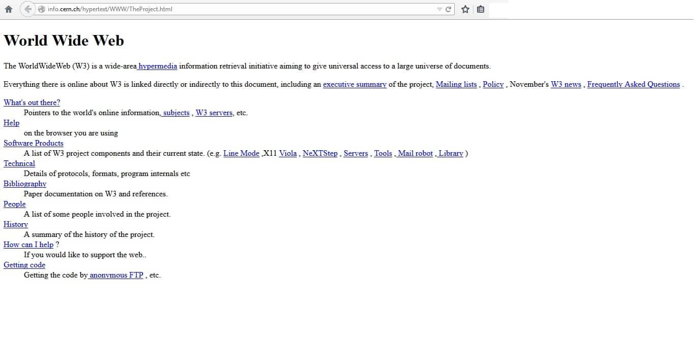Prima Pagina Web