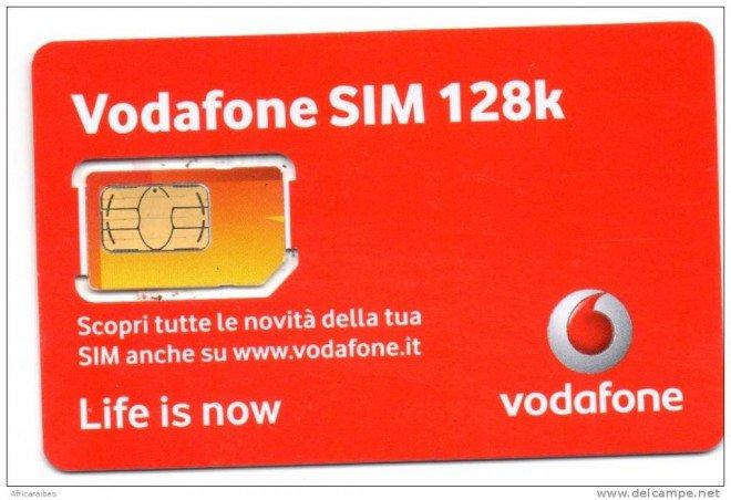 Tutte le SIM Vodafone 3G (128K) ora supportano la rete 4G!