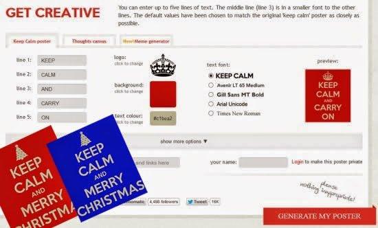 generare keep calm gratis online
