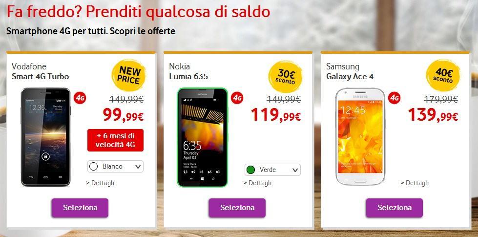 Saldi Vodafone