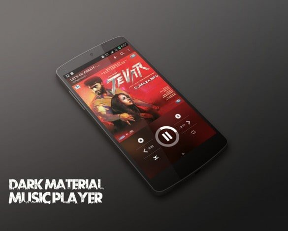 Dark-Material-Music-Player-CM12-1-585x470