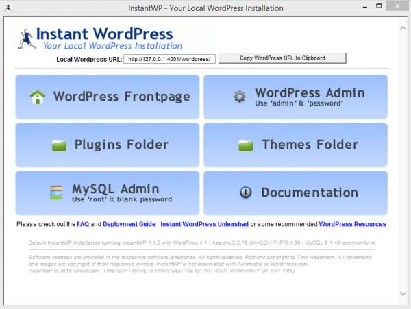InstantWordPress_ControlPanel-600x451