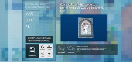 Bce lancia concorso 'Tetris Nuova banconota da 20 euro'